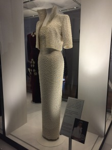Princess Di's Pearl Dress - she wore it to Hong Kong and the White Garden